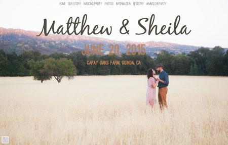 Matthew sheila