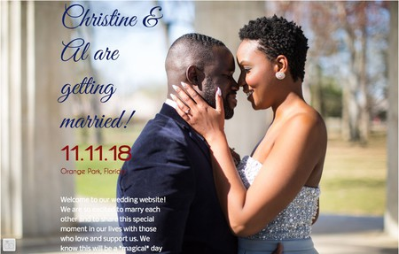 Christine al are getting married