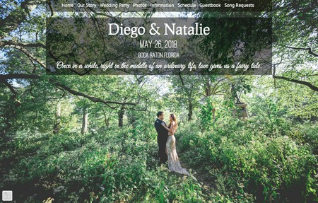 Diego natalies wedding
